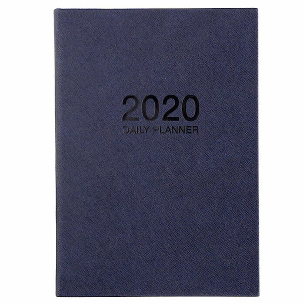 Blå kalender från clas ohlsson 2020