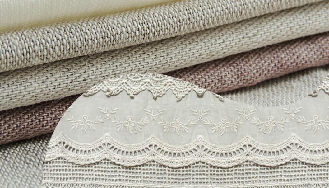 Två sorters textilier