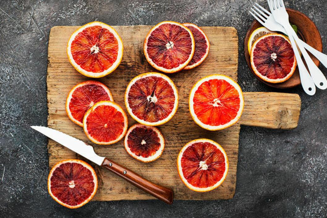 Passa på att äta den aromatiska och mer spännande blodapelsinen när den har säsong.