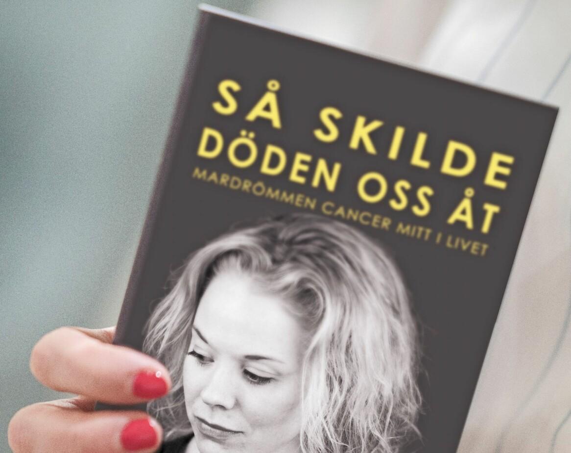 Karin är aktuell med boken <i>Så skilde döden oss åt</i>. Foto: Jennifer Glans