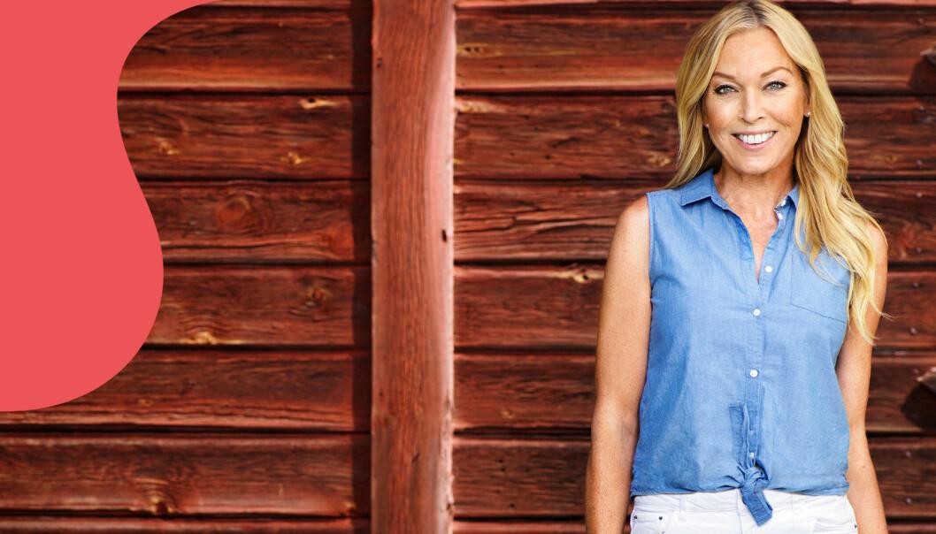 Linda Lindorff är programledare för Bonde söker fru – jorden runt med premiär våren 2020 i TV4.