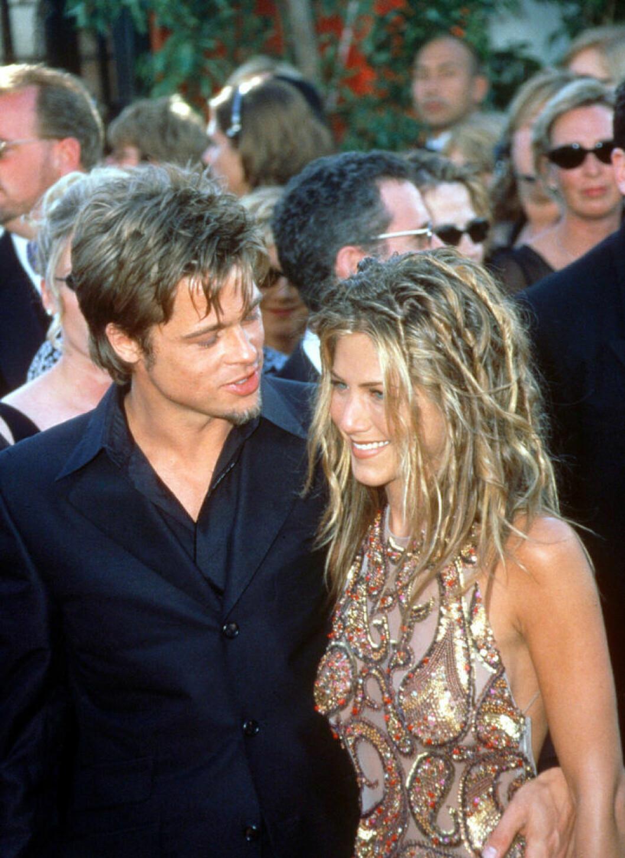 Brad Pitt och Jennifer på Emmys 1999