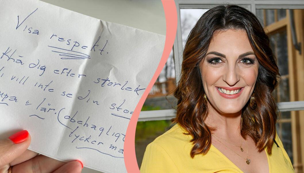 Soraya Lavasani fick ett brev från en tittare.