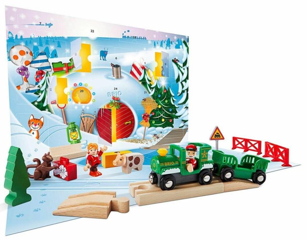 Brio leksakståg adventskalender