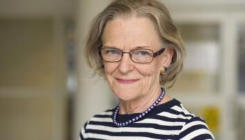 Porträtt av Kerstin Brismar, professor.