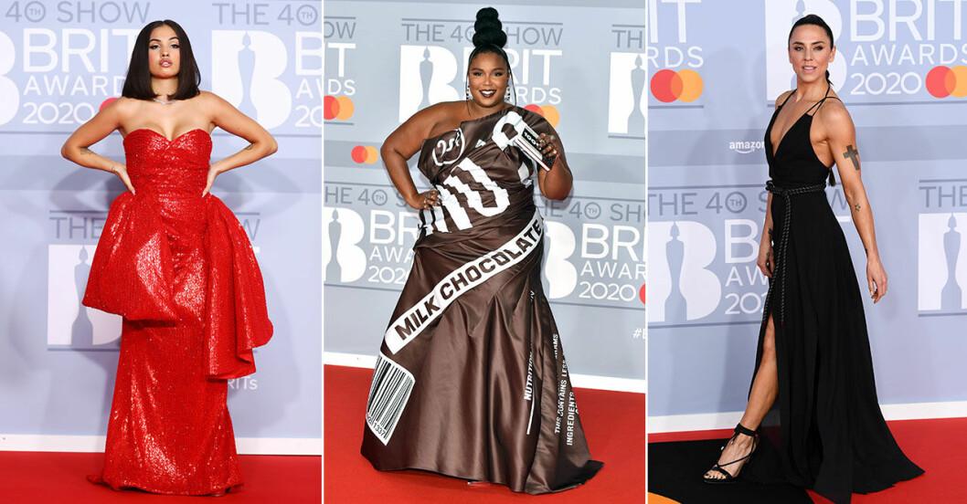 Röda mattan på Brit Awards 2020