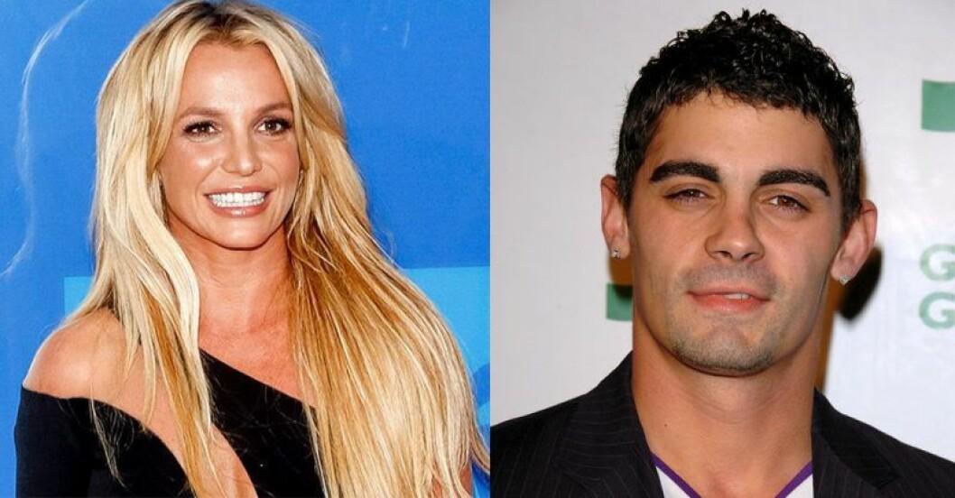 Britney och Jason Alexander