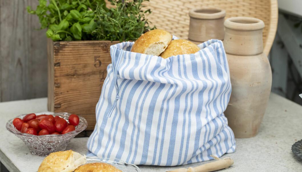 Sy en brödpåse efter vårt mönster.