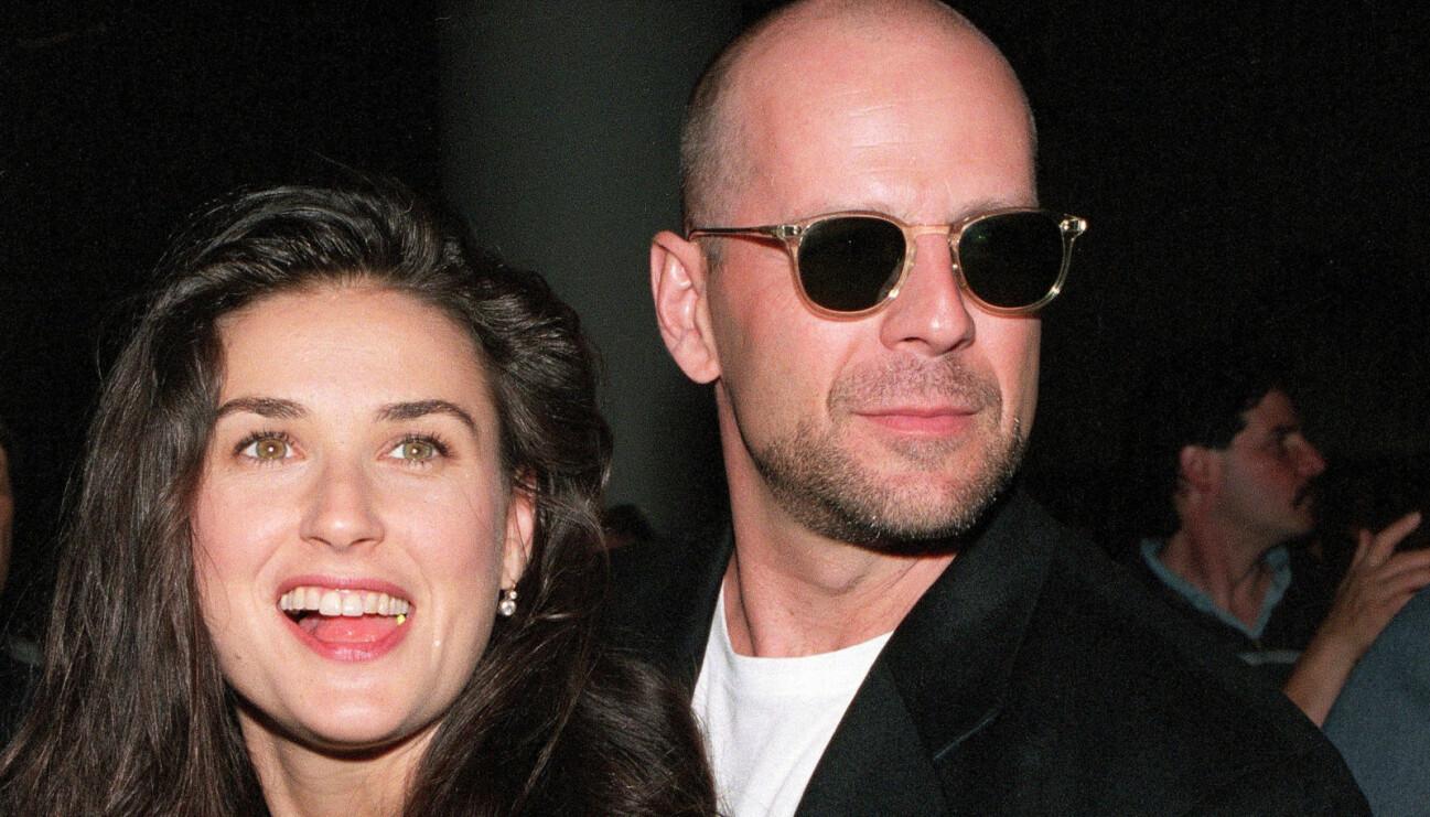 Demi Moore och Bruce Willis