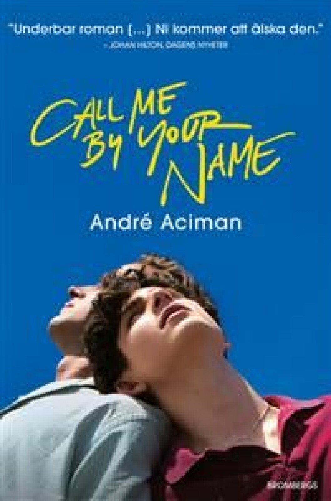 Call me by your name bok