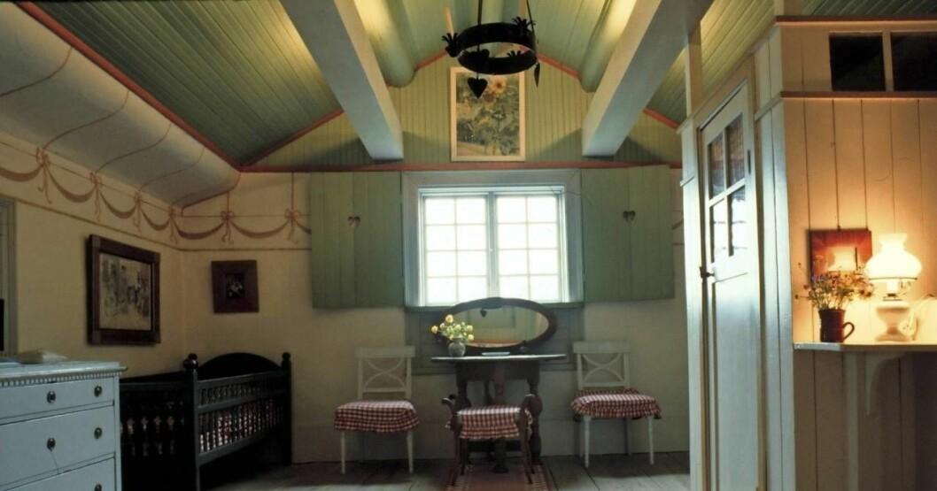 Interiör från Carl Larssons hem