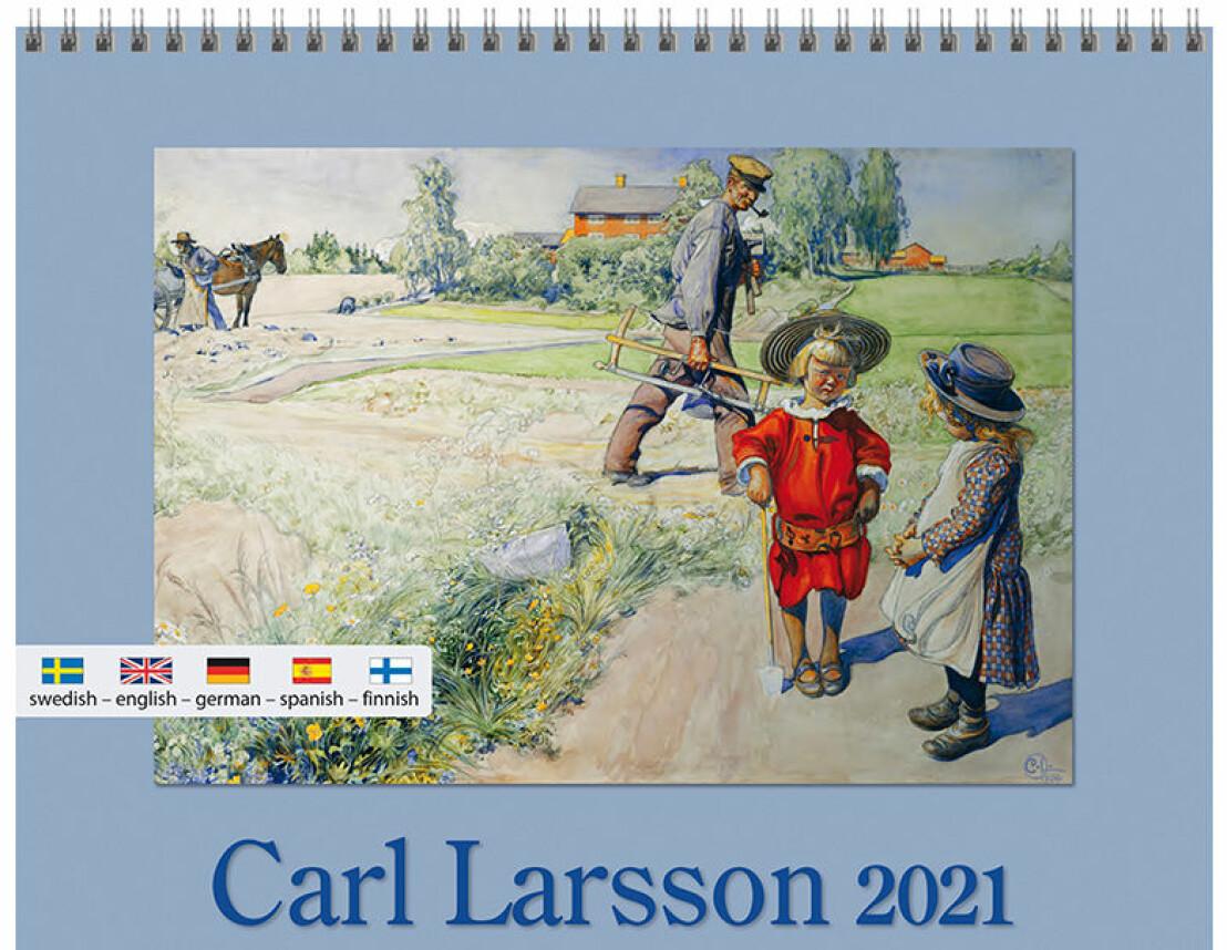 Carl Larsson väggkalender 2021.