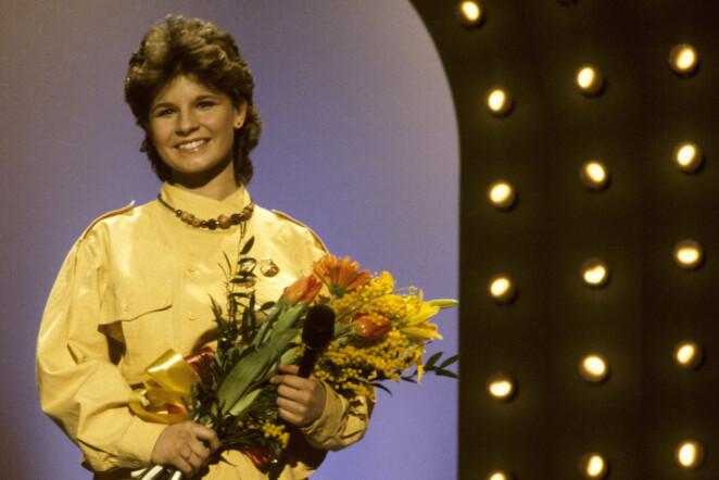 Carola vann med <i>Främling</i> 1983.