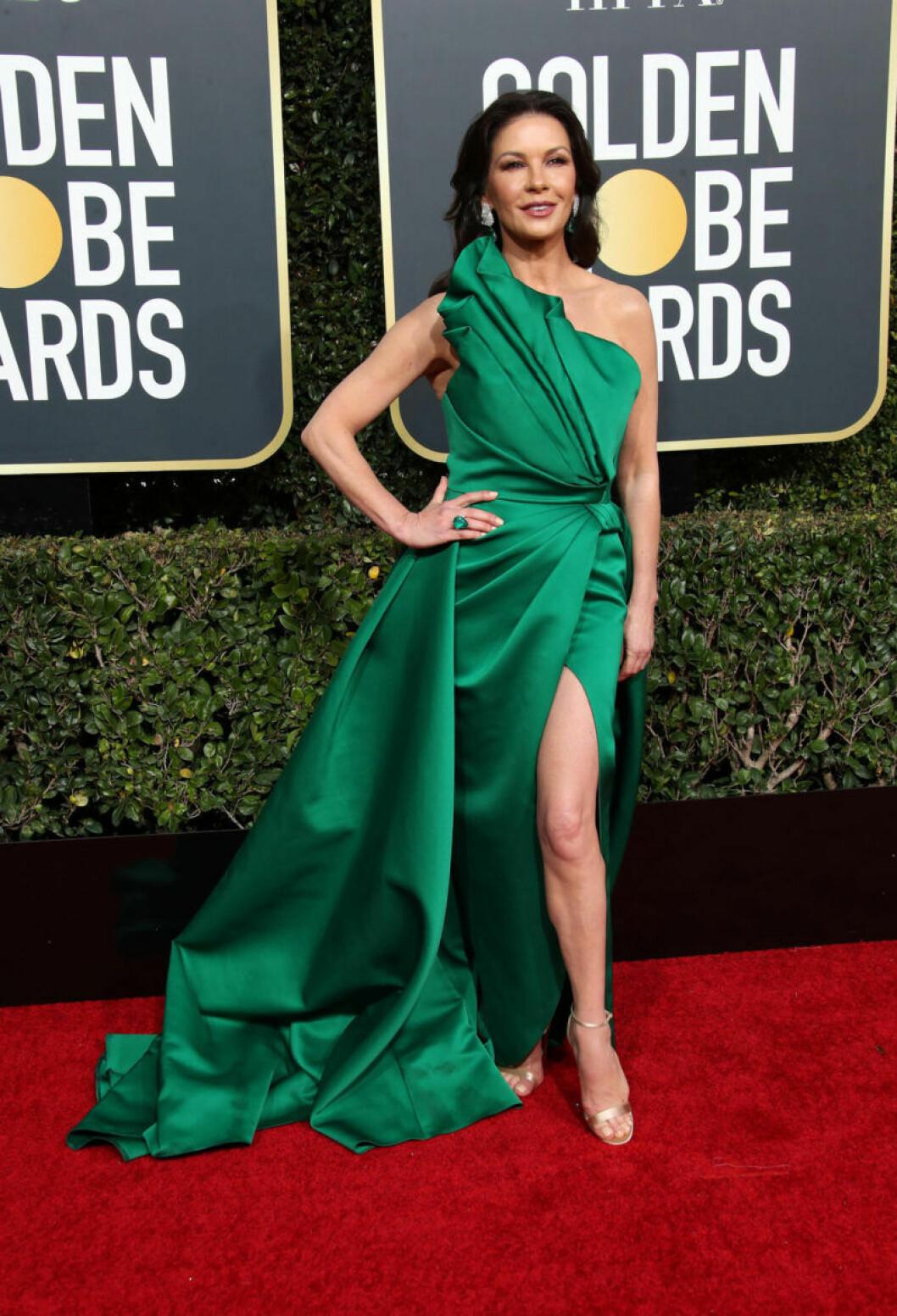 Catherine Zeta-Jones Golden Globe 2019
