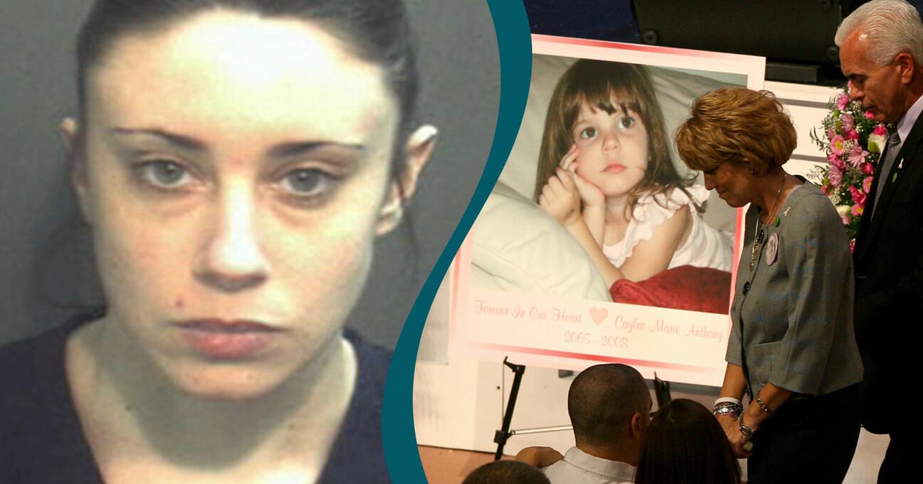 Casey Anthony som misstänkes för mordet på sin dotter Caylee Anhony 2011 men friades.