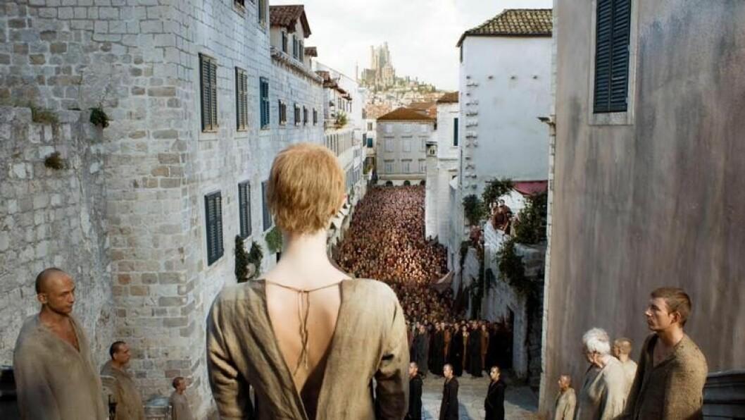 En bild på The Great Sept of Baelor, från tv-serien Game of Thrones.