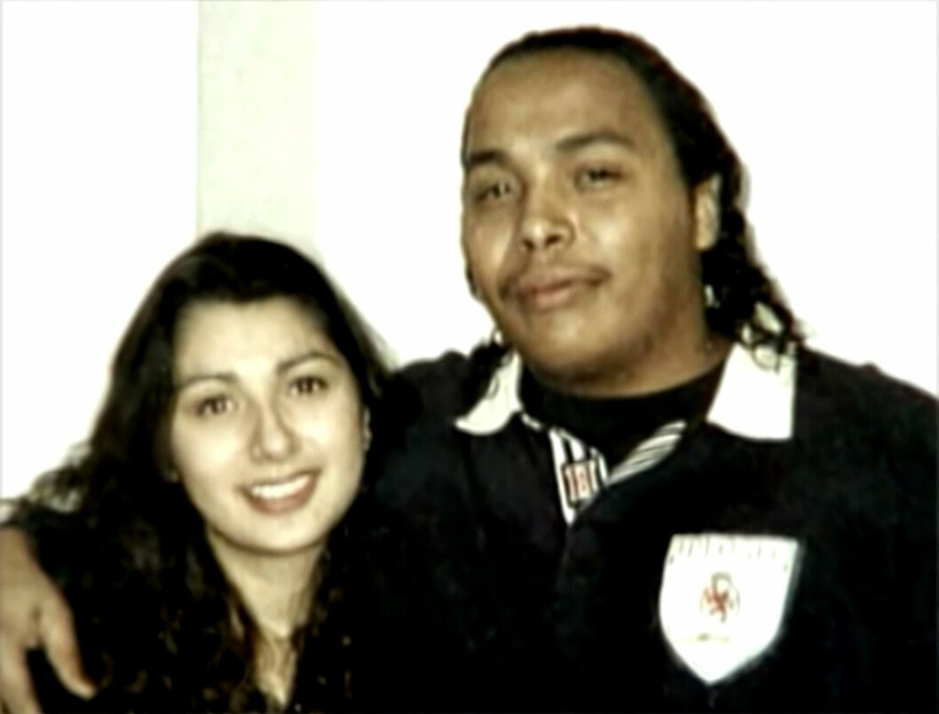 Pictured here is: Raquel Rivera with her boyfriend Jay Johson  Childhood sweethearts Raquel Rivera and Jay Johnson were shot to death in their own home in Seattle, Washington. Two men burst into their house just before dawn looking for drugs and when the couple told them they had no drugs, gunned them down in cold blood. The killers also shot the the couple's six month old dog Chief who was trying to protect them. And thanks to forensic science it would be Chief's DNA that helped place the killers - Kenneth 'Sable Claus' Leuluaialii and George Tuilefano at the scene after some of Chief's blood spatter was found on Leuluaialii's jacket sleeve. It was the first time in the US that dog DNA had been used as evidence in a criminal case and helped convict Leuluaialii  and Tuilefano who were both found guilty and sentenced to life in prison.  Ref:   F NICLA 191220 A                            Focus News Agency  Los Angeles: + 1 310 962 4153 npittam@focusnewsagency.com