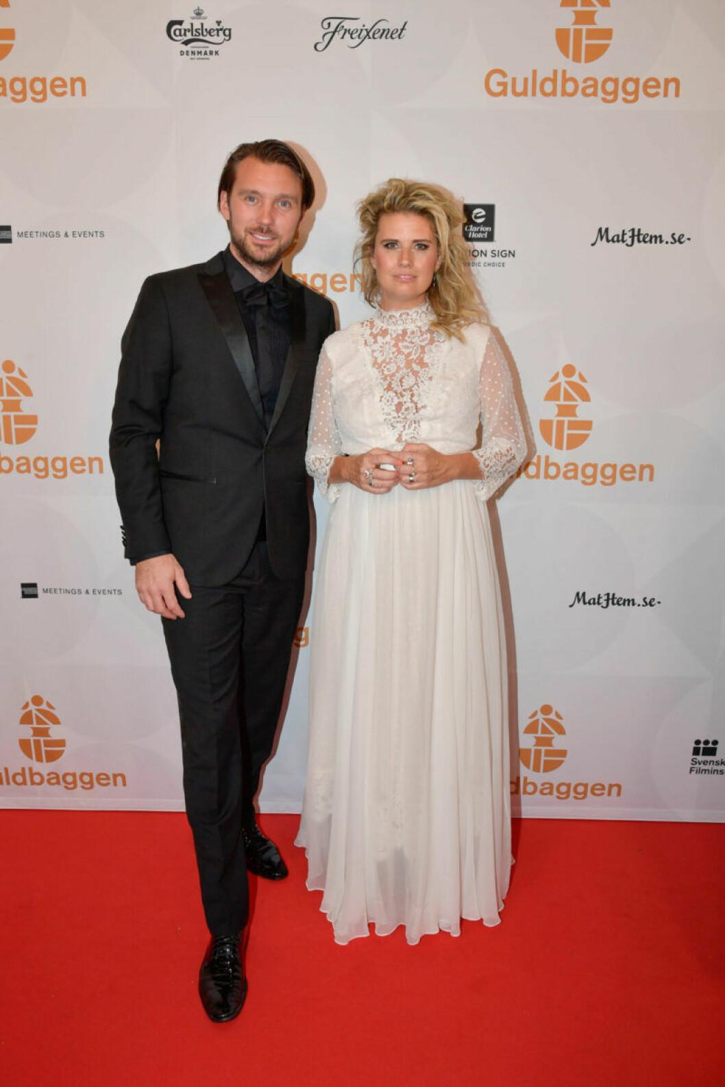 Röda mattan, Christine Meltzer med Nicolas