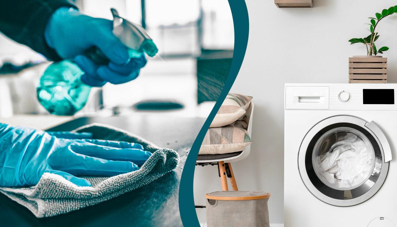Städa och tvätta