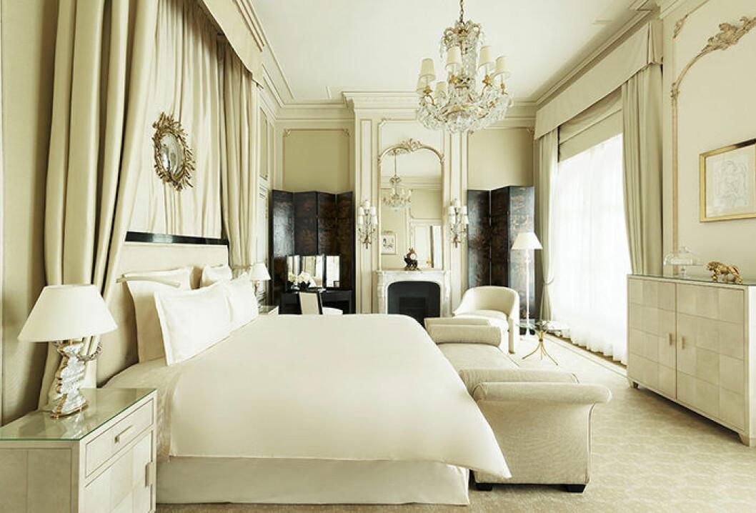 Coco Chanels svit på hotellet Ritz Paris