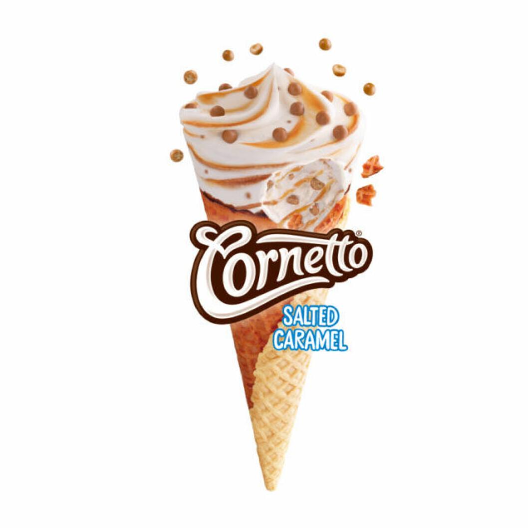 Nya Cornetto Salted Caramel