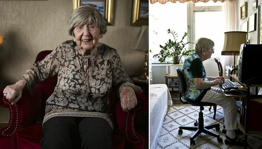 Den 8 maj 2017 fyller bloggaren Dagny Carlsson 105 år.
