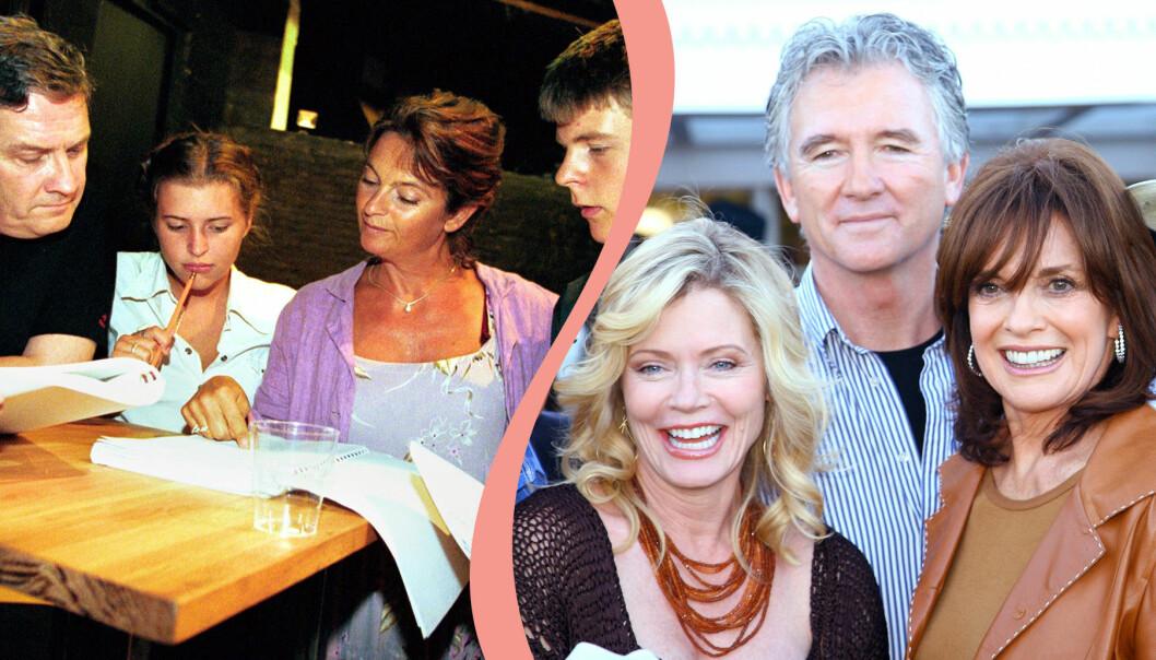 Svensson Svensson och Dallas är två av tv-serierna som var stora under 80- och 90-talet.