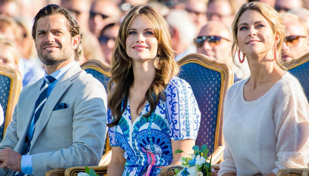 Carl Philip, Sofia och Madeleine