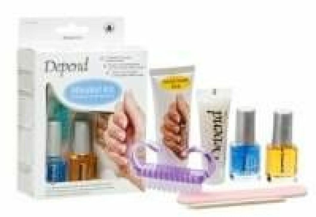 Kit för naglar och händer från Depend