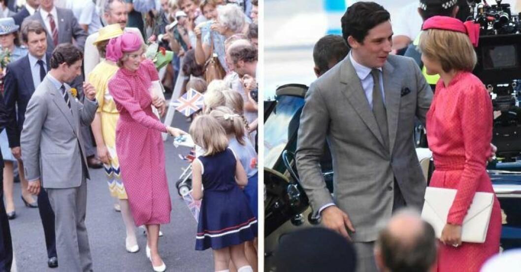 Charles och Diana i The Crown