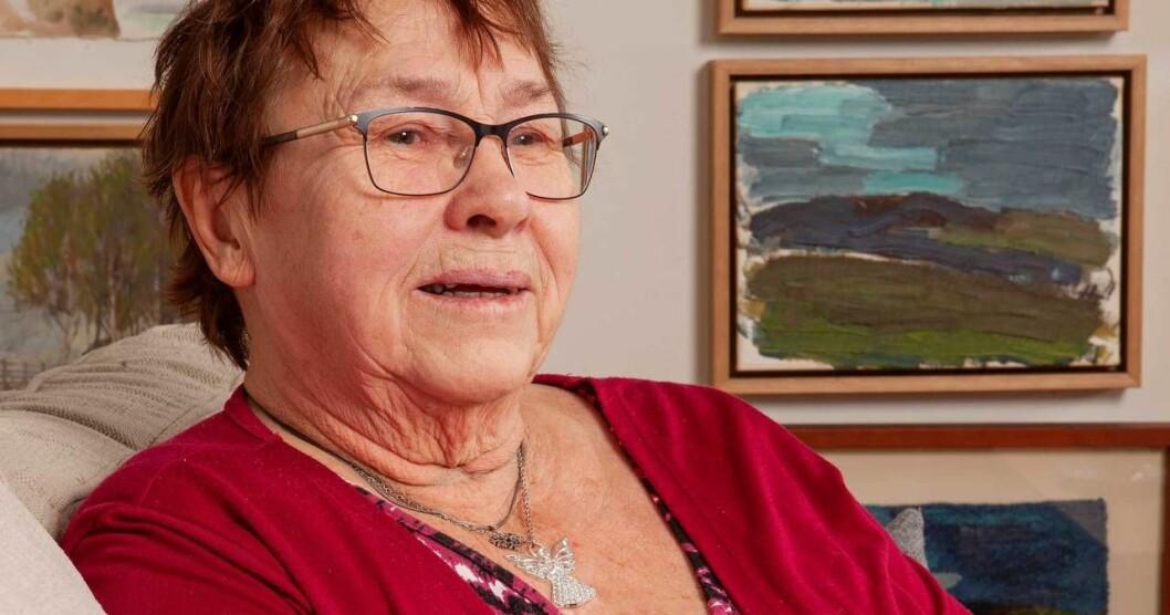 Marianne Falk berättar hur det är att vaka vid dödsbäddar.