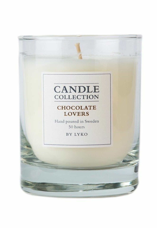 Doftljus med doft av choklad