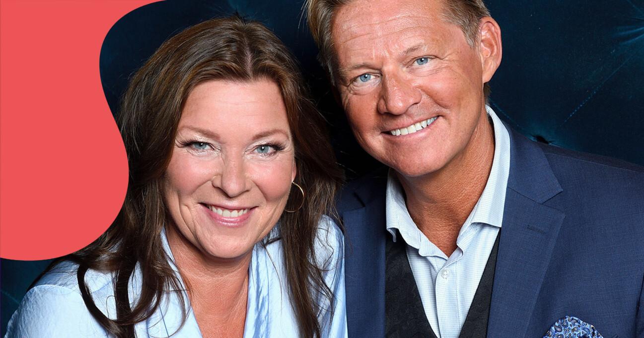 Doktor Mikael och Lotta Engberg.