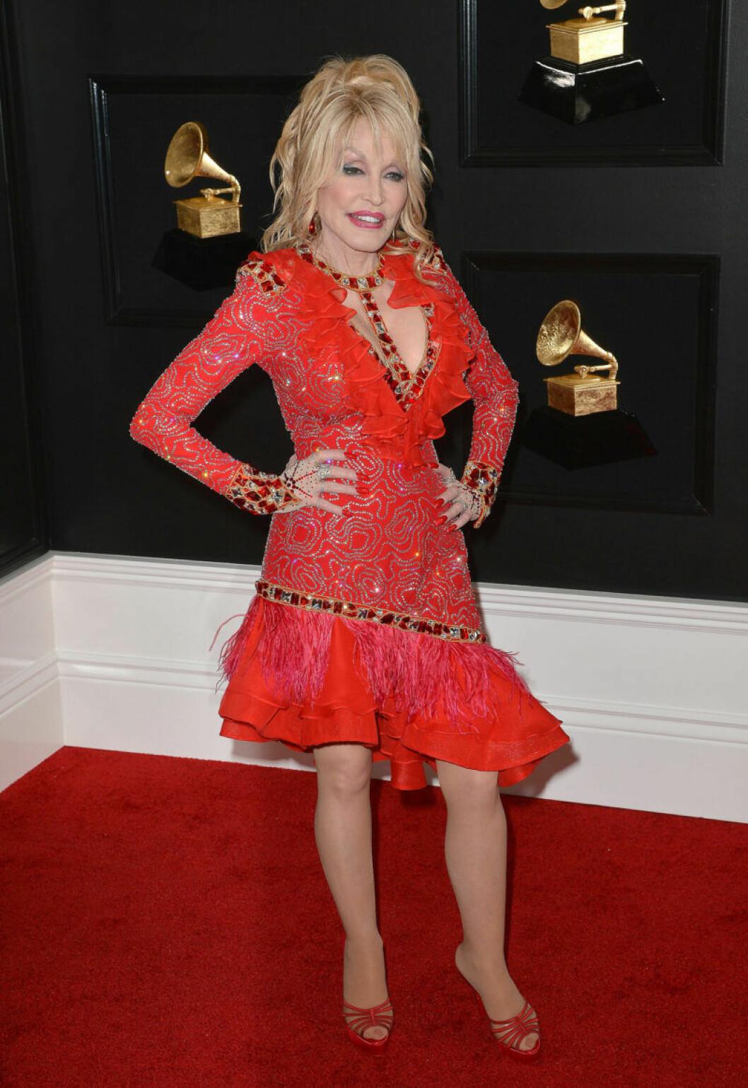 Dolly Parton på Grammy Awards 2019