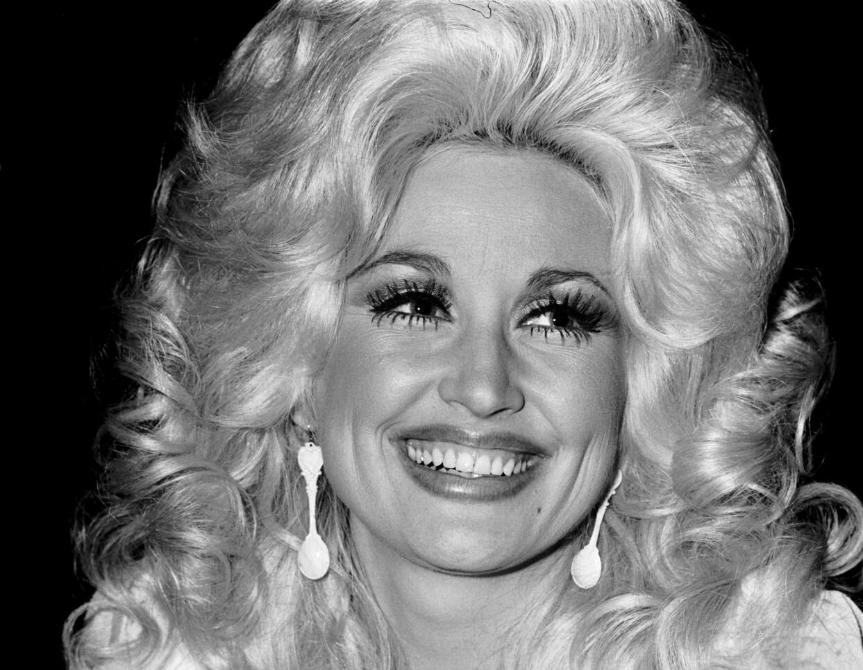 Dolly Parton på 1970-talet.