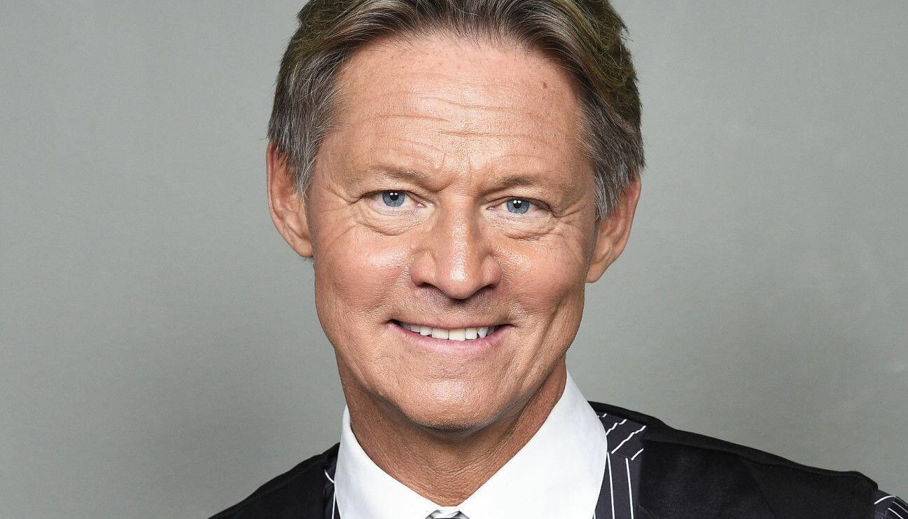 Porträtt av Doktor Mikael Sandström bland annat känd från Nyhetsmorgon.