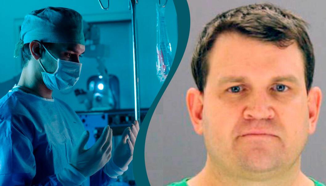 Bild från tv serien Dr Death på Cmore TV4 samt Christopher Duntsch som blev Dr Death