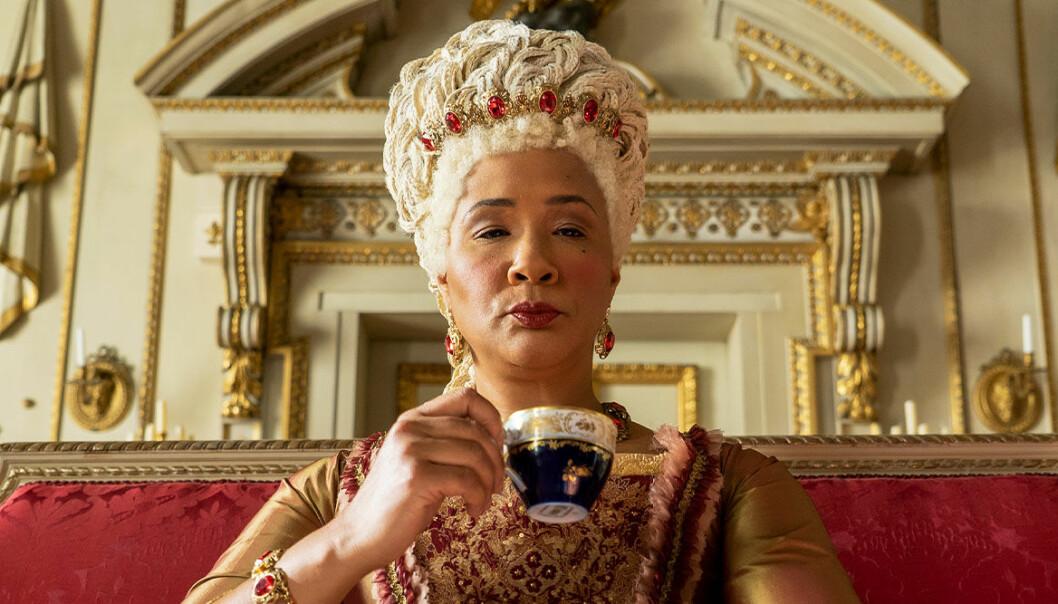 Drottningen i Bridgerton på Netflix
