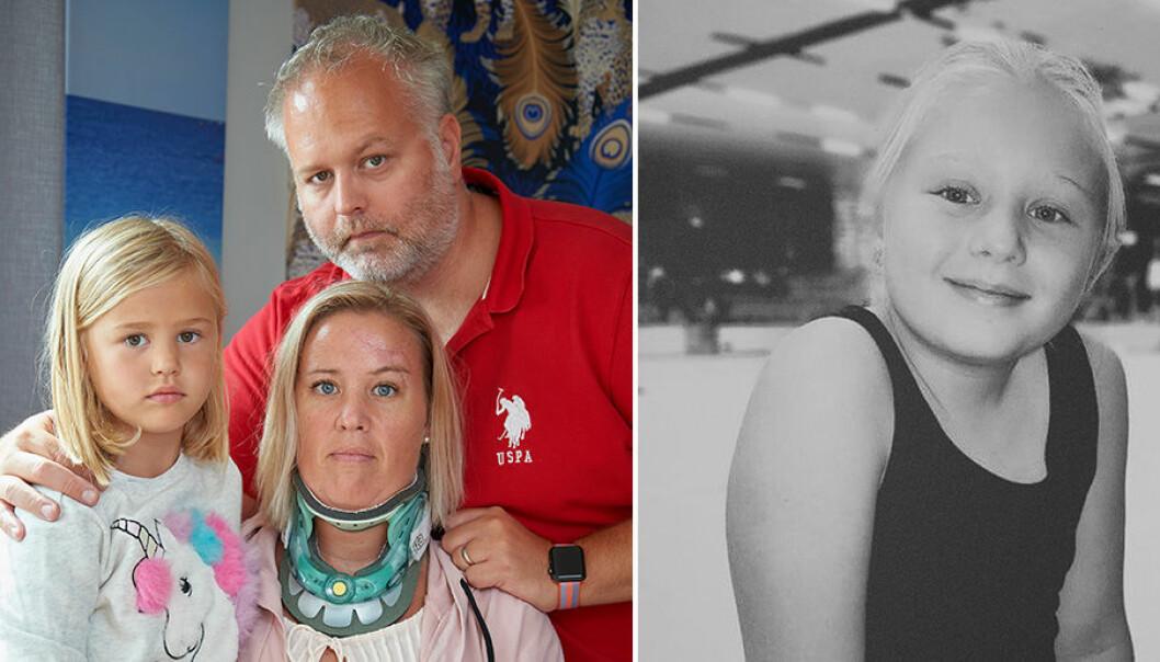 Embla 10 år donerade sina organ.