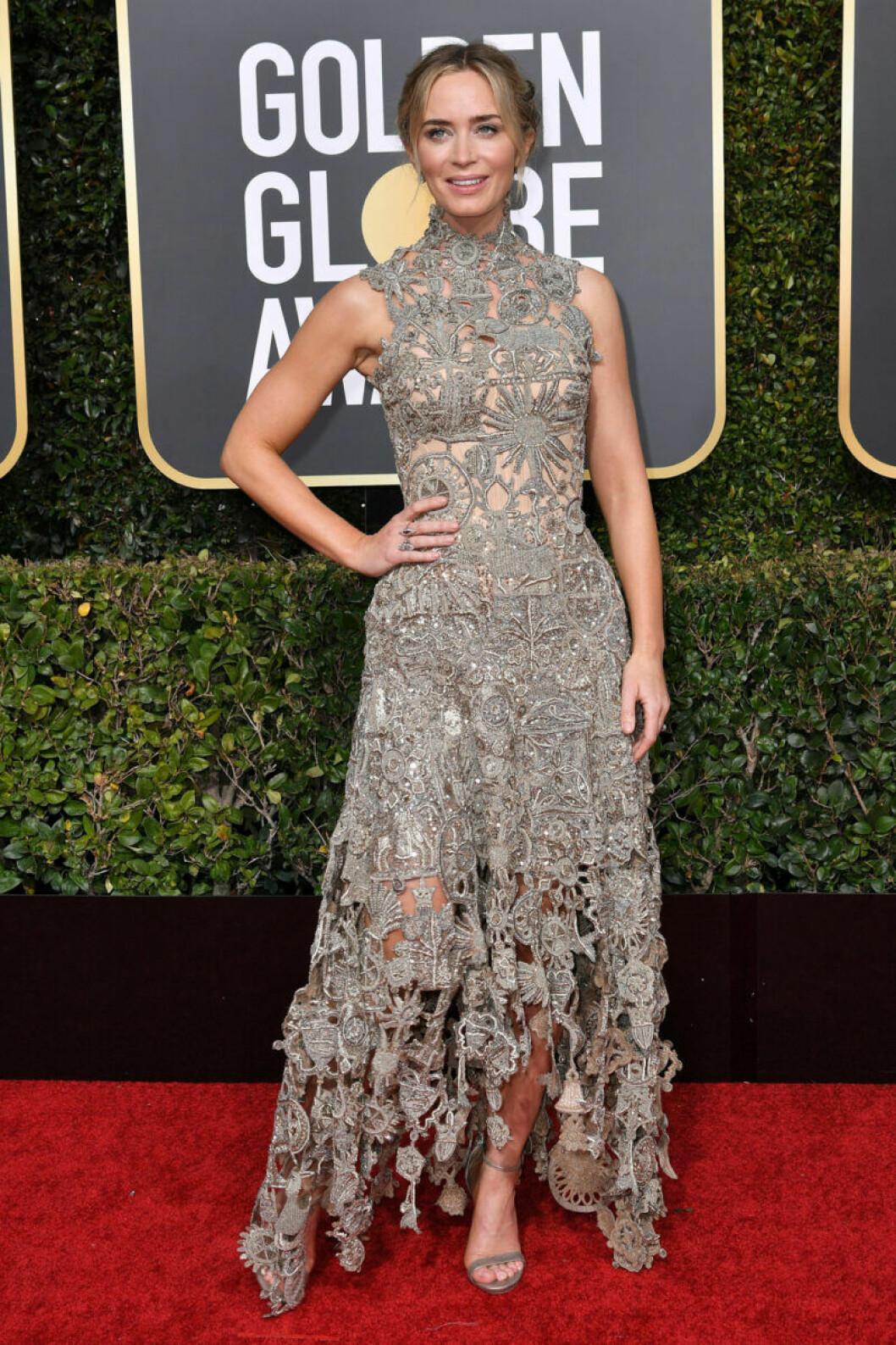 Emily Blunt Golden Globe 2019