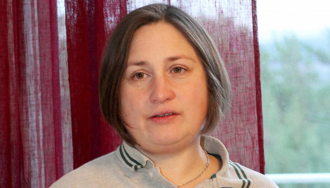 Porträtt av Emma vars mamma mördades