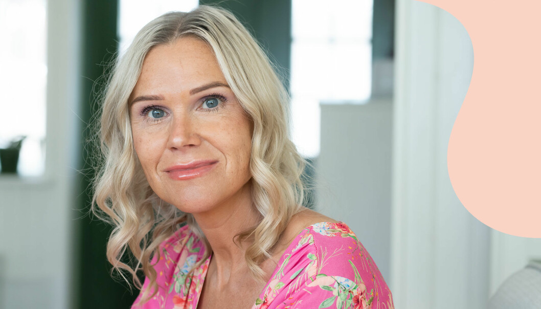 Eva Glimsand i Ljungskile blev änka när hon var höggravid med sitt tredje barn.
