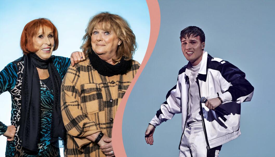 Eva Rydberg, Ewa Roos och Efraim Leo är med i Andra chansen i Melodifestivalen.