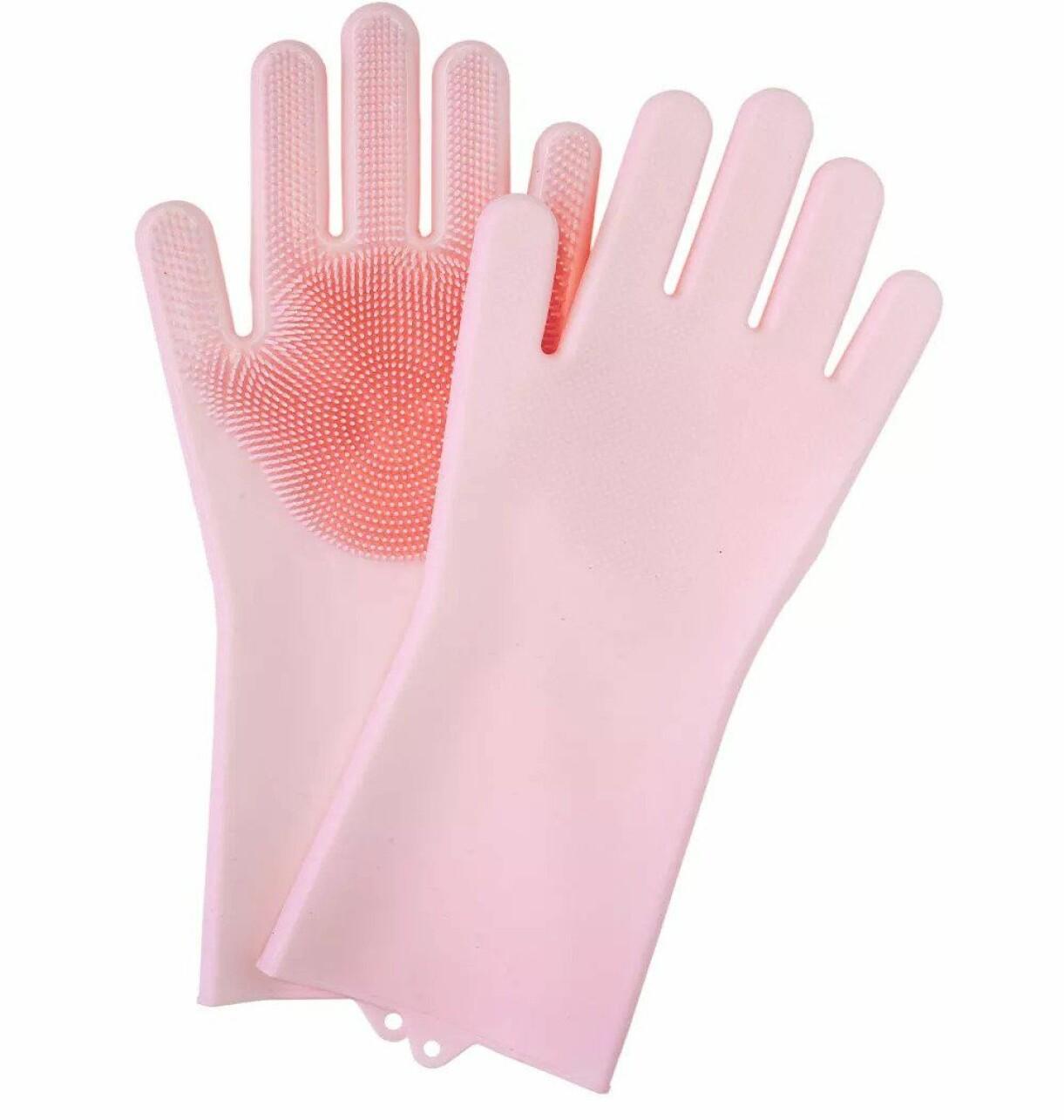 Smarta handskar med piggar.