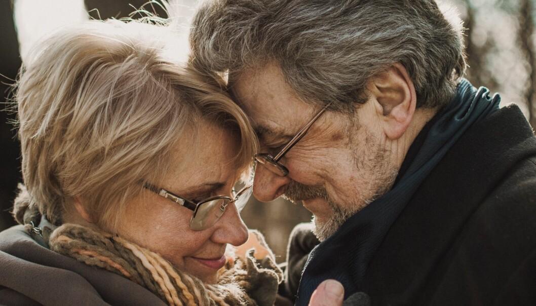 Ett par som har hållit ihop länge och har stjärnorna att tacka för det.