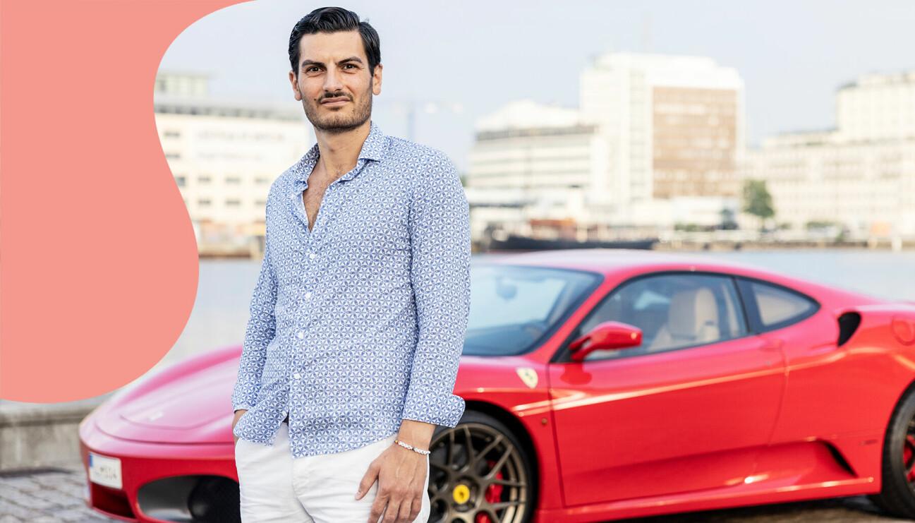 Tamer Senyüz säljer sin drömbil och låter alla pengarna gå till Cancerfonden.