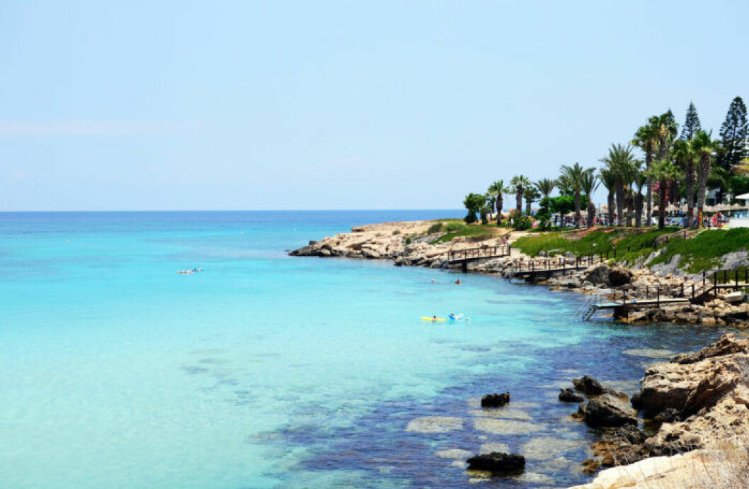 Strandtips: Fig Tree Bay, Cypern