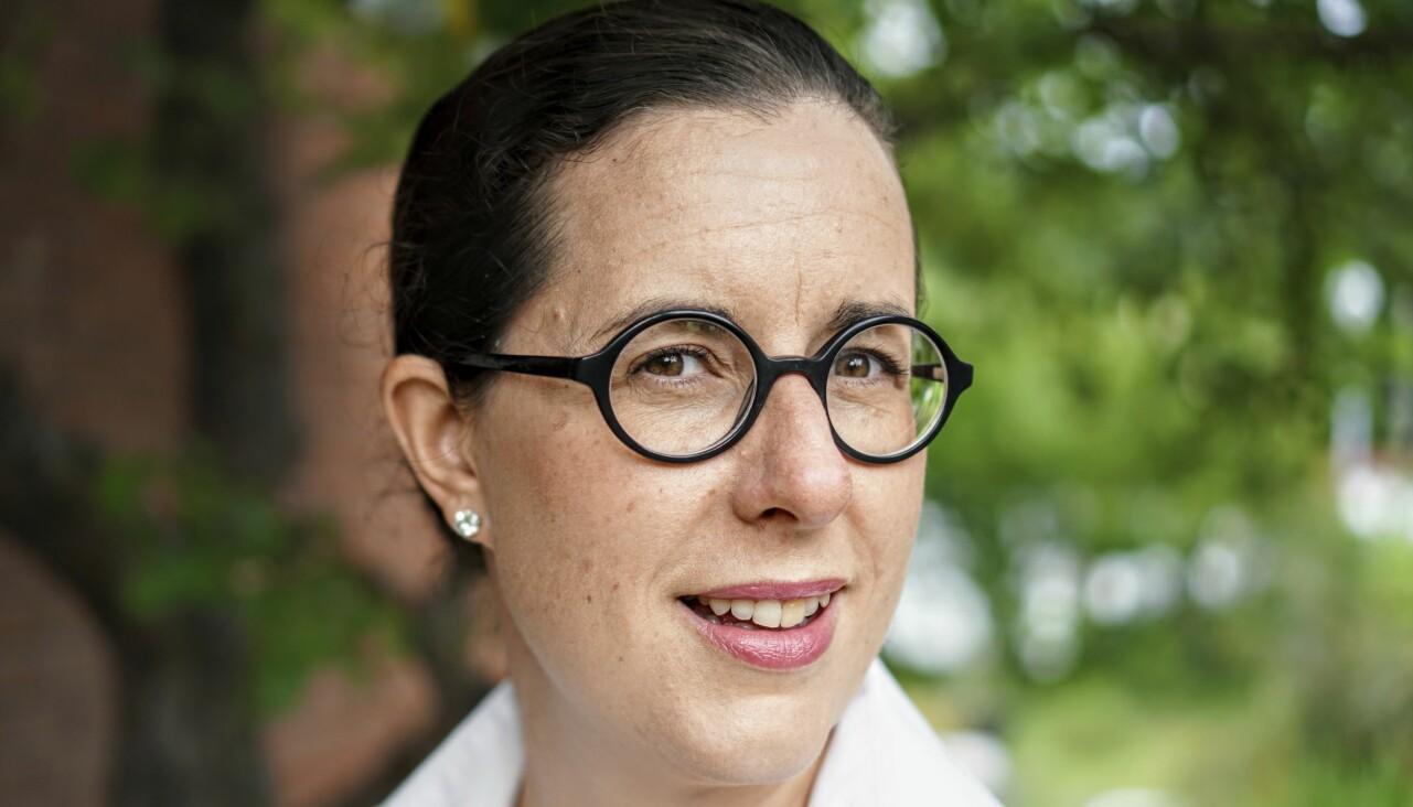 Författaren Emilia Arvidsson som skrivit boken Klimatglädje.