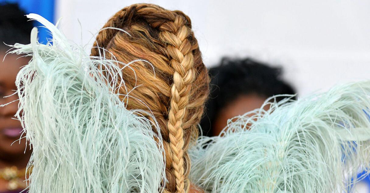En kändis frisyr – men ser du vem kändisen i fråga är?