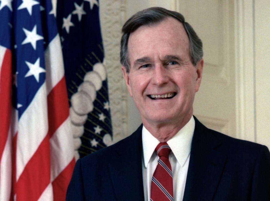 George HW Bush dog 2018.